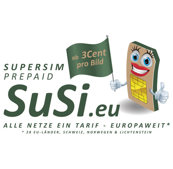 SuperSIM Prepaid-Multinetz-SIM-Karte